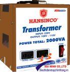 Máy Biến Thế 1 Pha HANSINCO 2000VA
