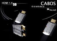 Cáp HDMI CABOS 1.4 (3m) cho Máy chiếu 3d