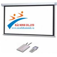 Màn chiếu điện tử remote 100 inchs (1m78*1m78)