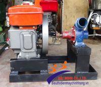 Máy bơm nước đầu nổ Diesel D8 Phi 100
