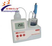 Máy chuẩn độ xác định Sulphur Dioxide tổng và tự do trong rượu Milwaukee Mi455