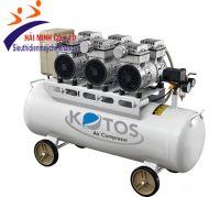Máy nén khí không dầu Kotos HD750*3 -70L