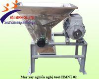 Máy xay nghiền nghệ tươi inox HMNT 02