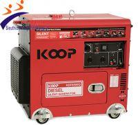 Máy phát điện chống ồn Koop KDF8500Q
