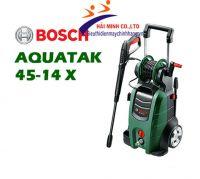 Máy phun xịt rửa áp lực cao Bosch  AQT 45-14 X