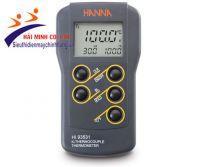 Máy đo nhiệt độ kiểu K Hanna HI93531