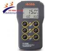 Máy đo nhiệt độ Hanna HI93542 loại K, J, T