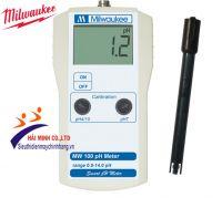 Máy đo pH cầm tay điện tử hiện số Milwaukee MW 100