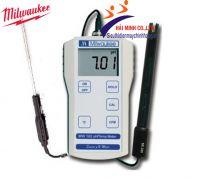 Máy đo pH-nhiệt độ cầm tay Milwaukee MW 102