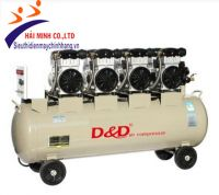 Máy nén khí giảm âm không dầu D&D SF1500*4