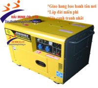 Máy phát điện Diesel SAMDI 8000EC-6KW chống ồn