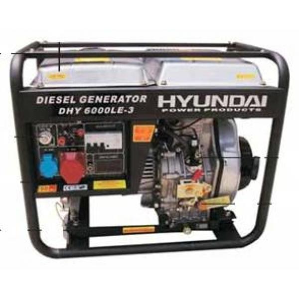 Máy phát điện HYUNDAI DHY 4000LE Diesel ( BỎ MẪU )