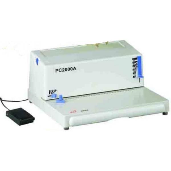 Máy đóng gáy kẽm Supu PC 2000A (điện)