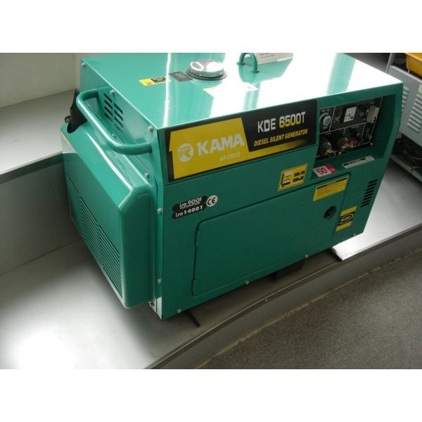 Máy phát điện dầu diesel KAMA KDE - 6500T