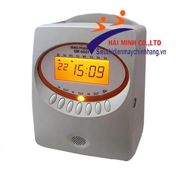 Máy chấm công thẻ giấy SEIKO QR-6561 ( BỎ MẪU )