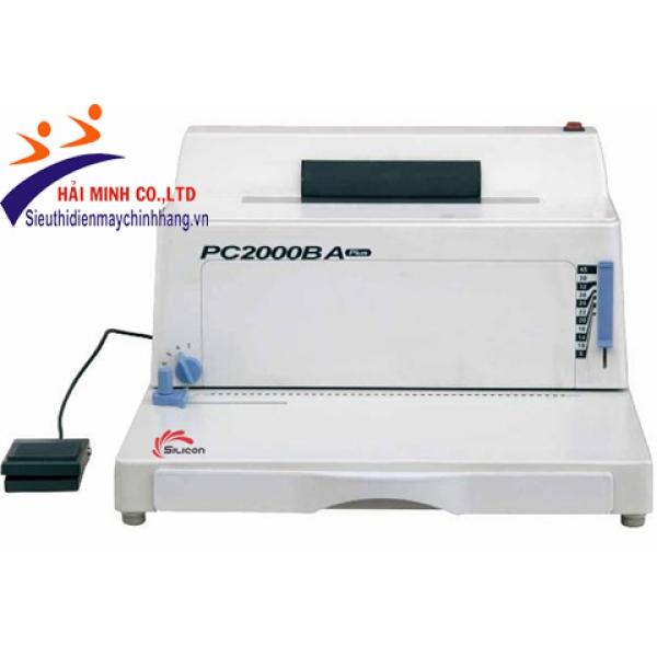 Máy đóng sách điện Silicon BM-PC2000BA