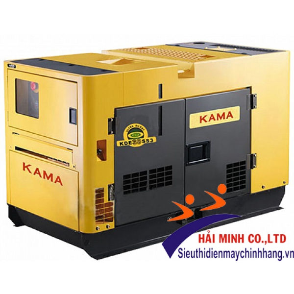 Máy phát điện 3 pha diesel KAMA KDE-13SS3 (10.6kva)