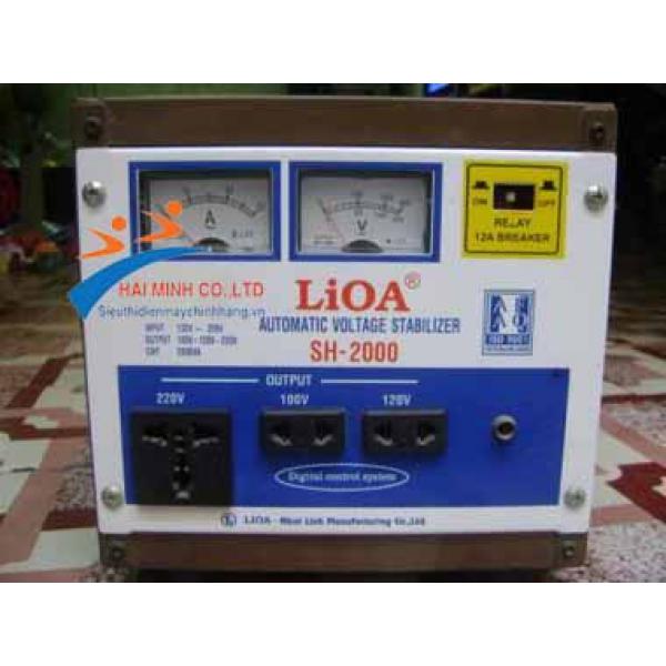 Ổn áp Lioa 1 pha SH 2000 II
