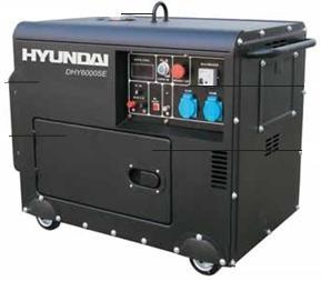 Máy phát điện chạy dầu diesel HYUNDAI DHY 6000SE Diesel