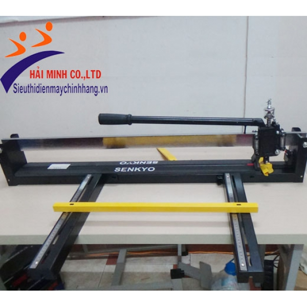 Máy cắt gạch siêu cứng có bình dầu senkyo 800A3