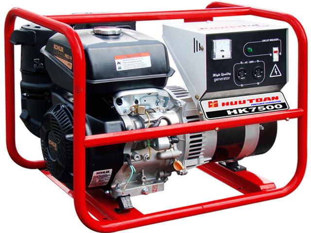 máy phát điện hữu toàn hk7500 giá rẻ