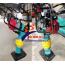 Máy đầm cóc chạy xăng HCR 100 chân tròn