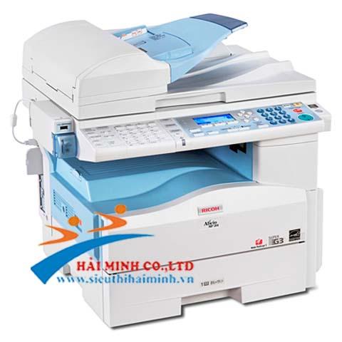 máy photocopy khổ A4 Ricoh MP 201SPF