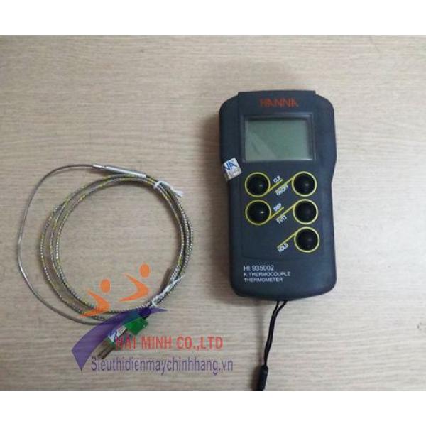 Máy đo nhiệt độ tiếp xúc 2 kênh HannaHI935002