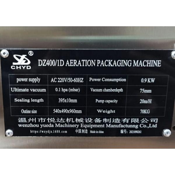 Máy hút chân không công nghiệp DZ-400