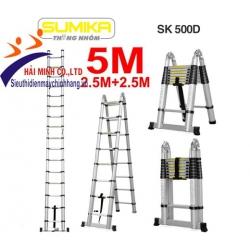 Thang nhôm rút gọn chữ A Sumika SK500D