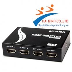 Bộ chia HDMI 1 ra 4 cổng HDMI