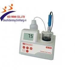 Máy chuẩn độ xác định Acid tổng trong rượu MILWAUKEE Mi456