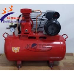 Máy nén khí không dầu dây đai HD-V-0.09/8 – 50L