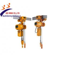 Pa lăng xích điện HKD015-01S con chạy 1.5 tấn
