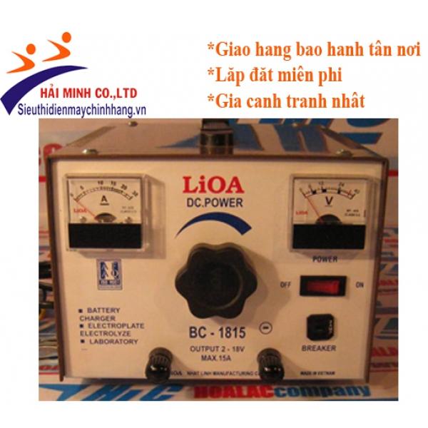 Máy nạp Ắc Quy Lioa DC01518
