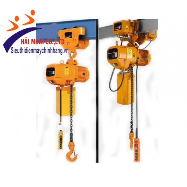 Pa lăng xích điện HKD02-01S con chạy 2 tấn