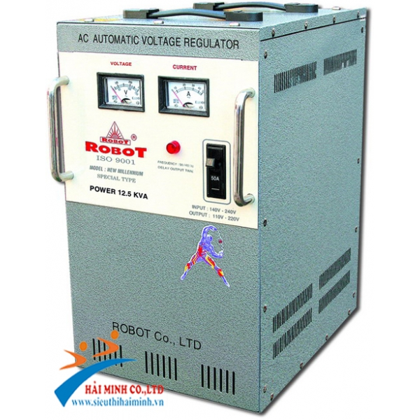 Ổn áp ROBOT 12.5KVA RENO 818 (150V-250V)
