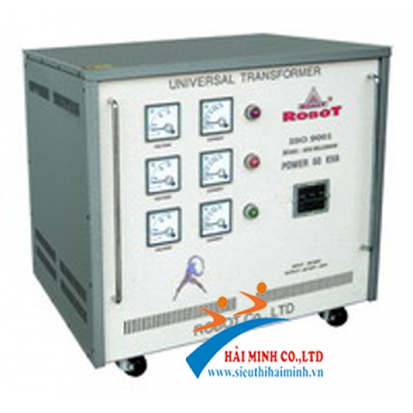 Ổn áp ROBOT 60KVA 3 Pha (260V - 430V)