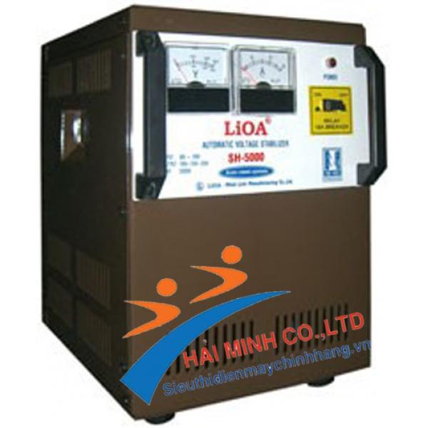 Ổn áp 1 pha Lioa  SH 5000 II