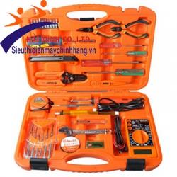 Bộ dụng cụ viễn thông cao cấp Asaki 35 chi tiết AK-9788
