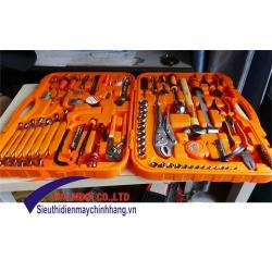 Bộ dụng cụ cơ khí cao cấp Asaki 86 chi tiết AK-9791