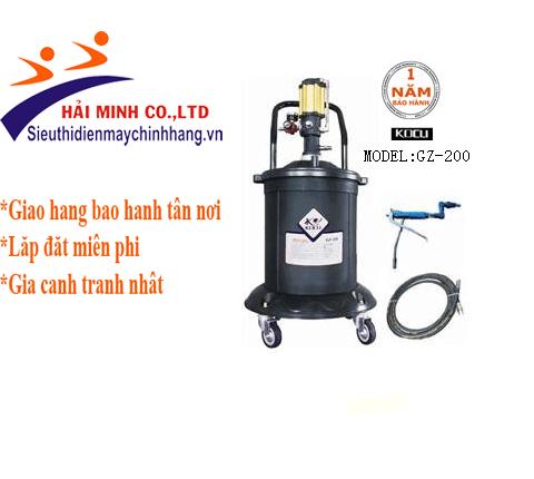 Máy bơm mỡ khí nén KOCU GZ-200