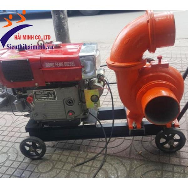 Máy bơm nước đầu bơm Kubota phi 150 Diesel D24