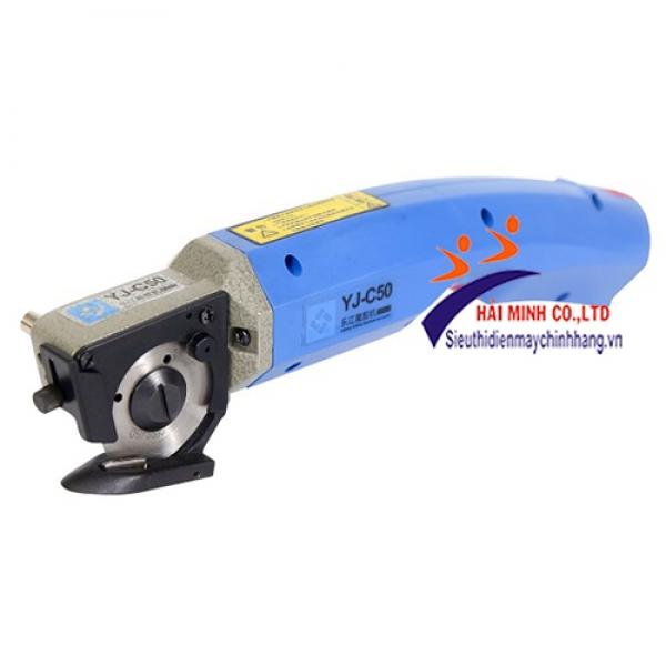 Máy cắt vải cầm tay chạy pin YJ-C50
