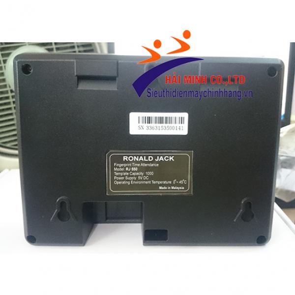 Máy chấm công vân tay RONALD JACK RJ550 (RJ550 Plus)