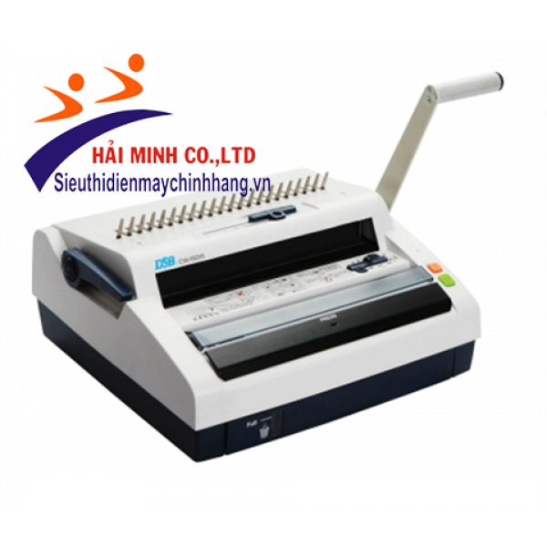 Máy đóng sách gáy xoắn nhựa và kẽm DSB CW-150E ( BỎ MẪU )