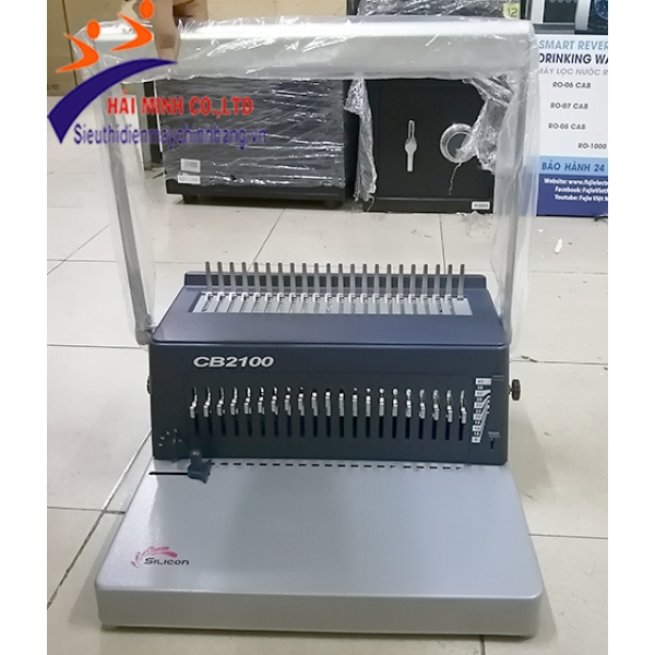 Máy đóng sách gáy nhựa Silicon BM-CB2100