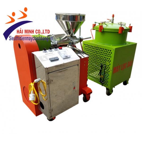 Máy ép dầu lạc đa năng( bộ lọc dầu)(MED-02)