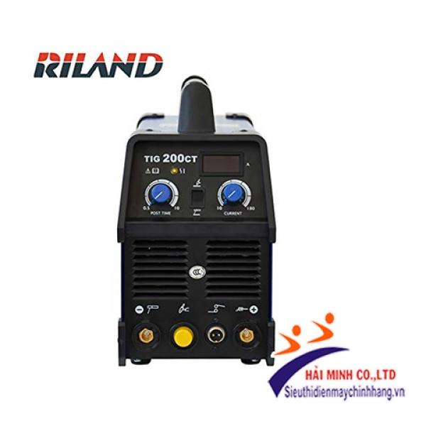 Máy hàn TIG Riland DC 200CT Inverter (dùng MOSFET - Hàn 2 chức năng TIG, MMA)
