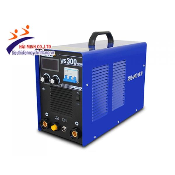 Máy hàn TIG Riland DC WS300A Inverter (dùng MOSFET- Hàn 2 chức năng TIG, MMA)